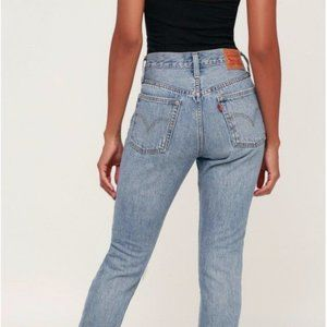 """Levis 505 xx High Rise Mom Jeans 34 x 29"""""""